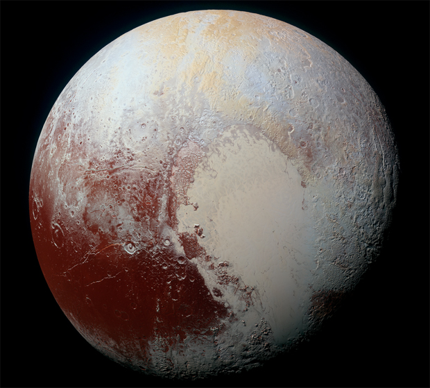 Breathtaking high resolution photos are now streaming onto the web from this summer's historic Pluto fly-by, amazing everyone, scientists and the general public alike.